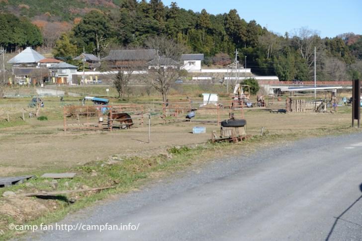 小さな牧場:巾着田