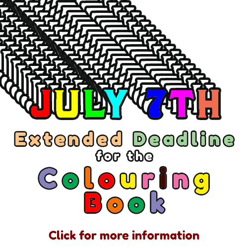 Colouring Book Extension to July 7th