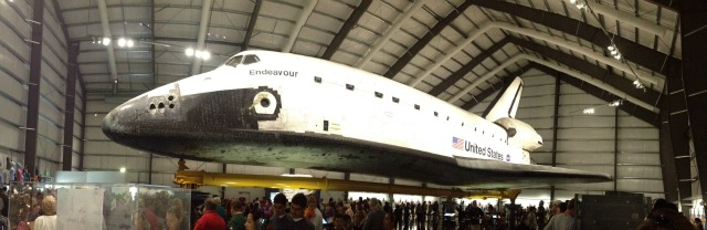 Space Shuttle Endeavor - Campfire Chic
