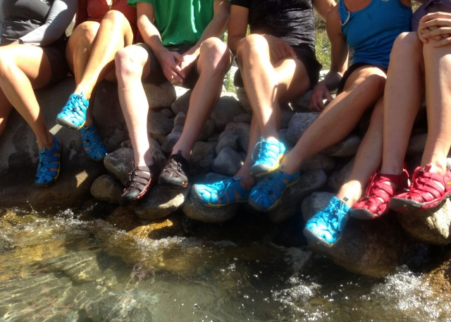 Water Sandals the KEEN Clearwater CNX - Campfire Chic
