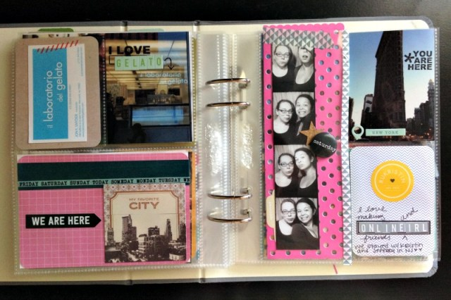 New York City Scrapbook Ideas - Campfire Chic