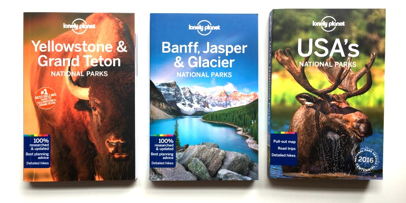 Lonely Planet National Park Guidebooks are fantastic travel planning books - Campfire Chic