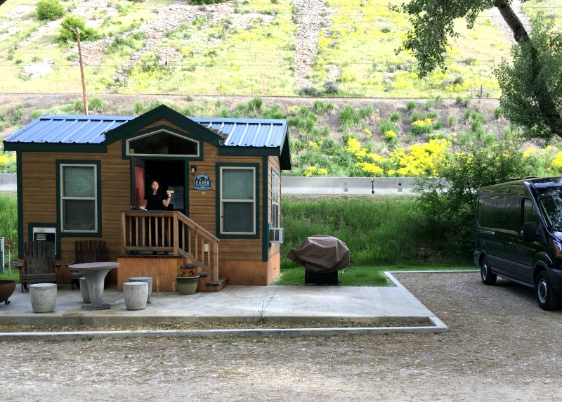Lava Hot Springs KOA Deluxe Cabin Campground Review - Campfire Chic