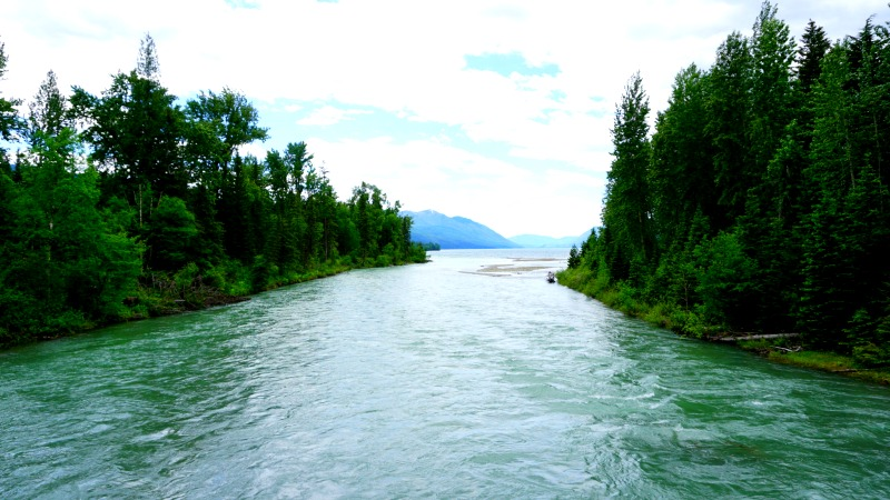 McDonald Creek Meets Lake McDonald in Glacier National Park - Campfire Chic