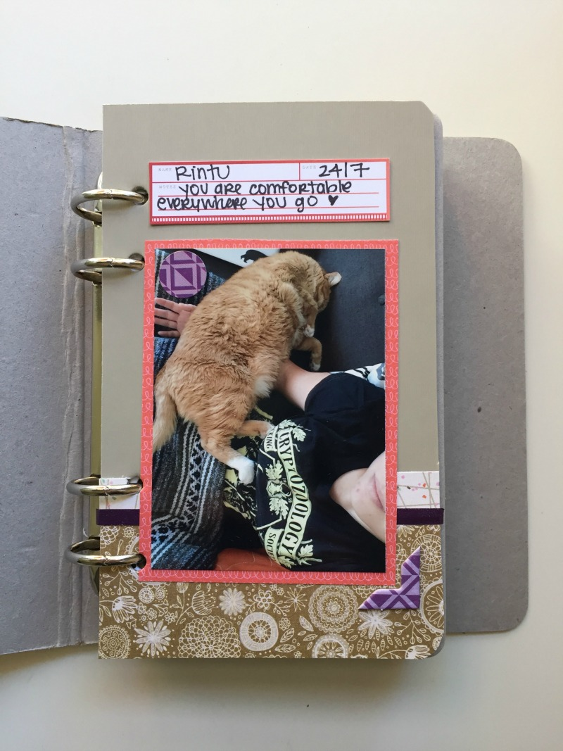 Pet Themed Scrapbook Album - Kam of Campfire Chic