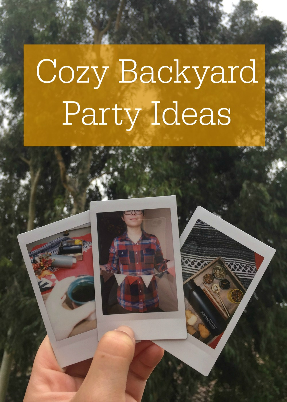 Cozy Backyard Party Ideas with Stanley PMI - Campfire Chic