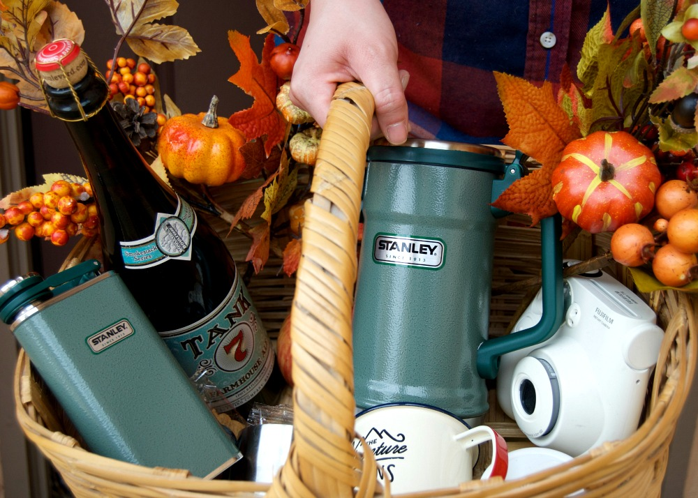 Stanley Brand Classic Wide Mouth Flask and Vacuum Stein for Parties on the go - Campfire Chic