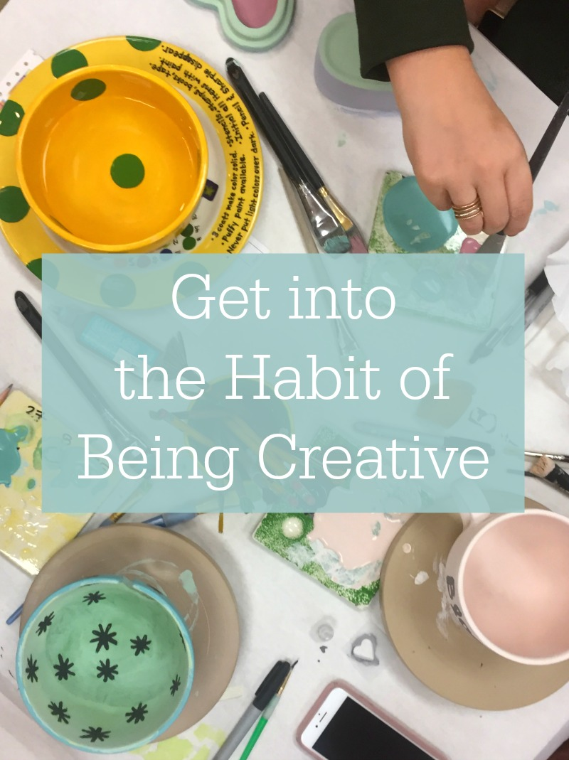 The Habit of Being Creative - Kam of Campfire Chic