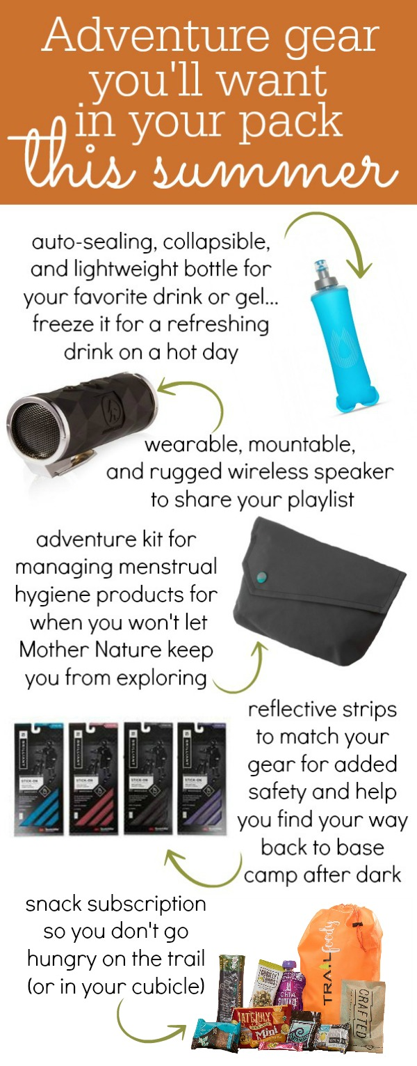 Summer Adventure Gear for Microadventurers - Kam of Campfire Chic