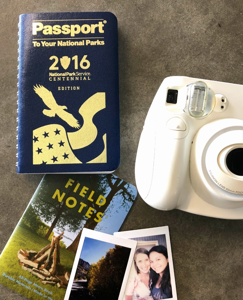 US National Parks Passport - Together We Find with Tile - Kam of Campfire Chic