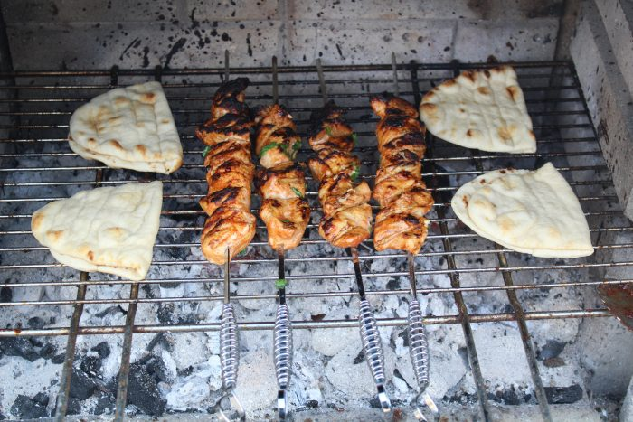 Grilled Chicken Tikka for the BBQ or Campfire