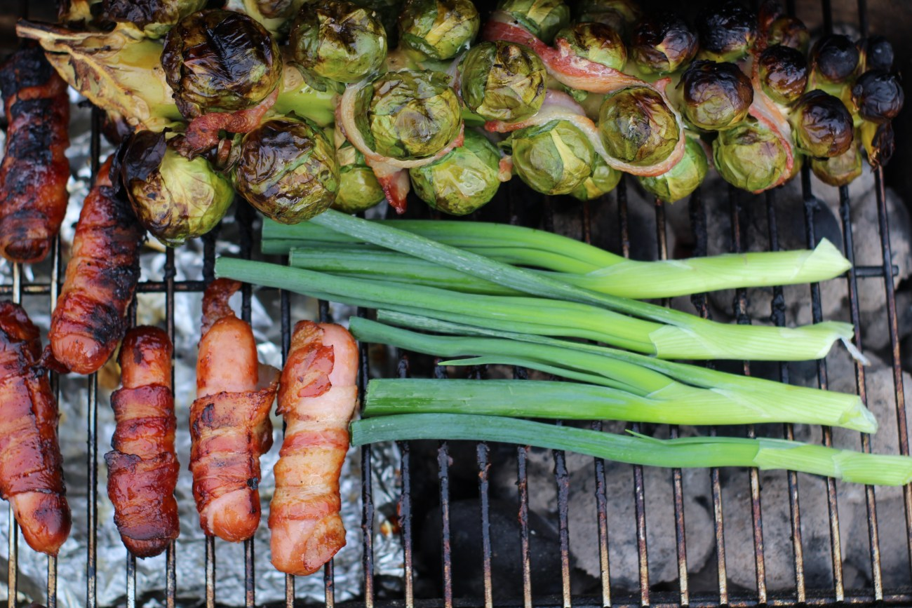 Rockin' Pigs in Blankets with Burnt Scallions