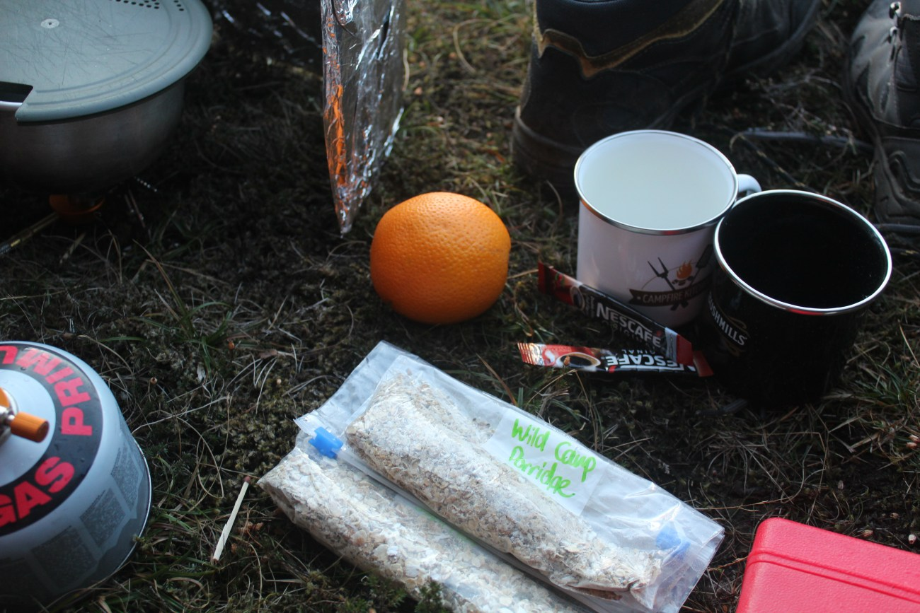 Super Seedy Wild Camping Porridge