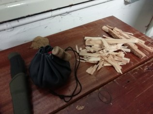 Process the bits you cut out into kindling.