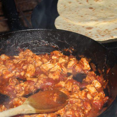 Saucy Chicken Fajitas