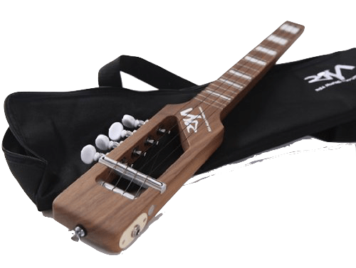 The RISA electric ukulele. Silent when not plugged in for on-site practising. Concert or tenor sizes.