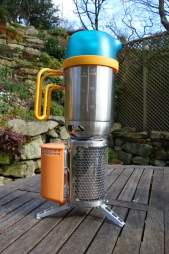 Biolite camping stove
