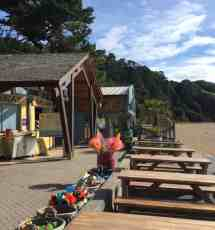 Blackpool Sands and Venus Cafe