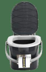 Branq portable camping toilet