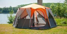 Coleman Cortes big top tent