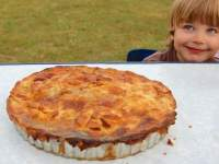 Camping pie