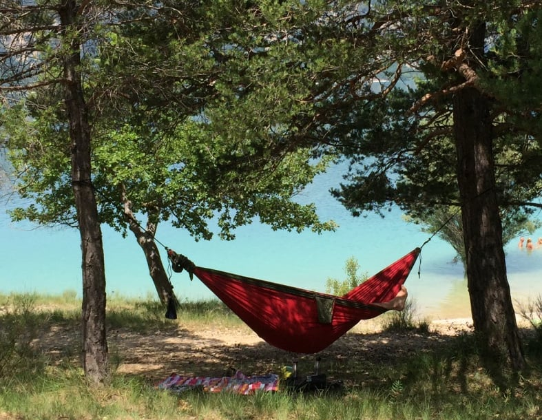 Light and well-designed hammocks