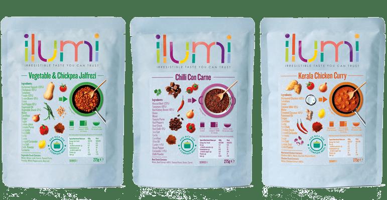 Ilumi ready-meals