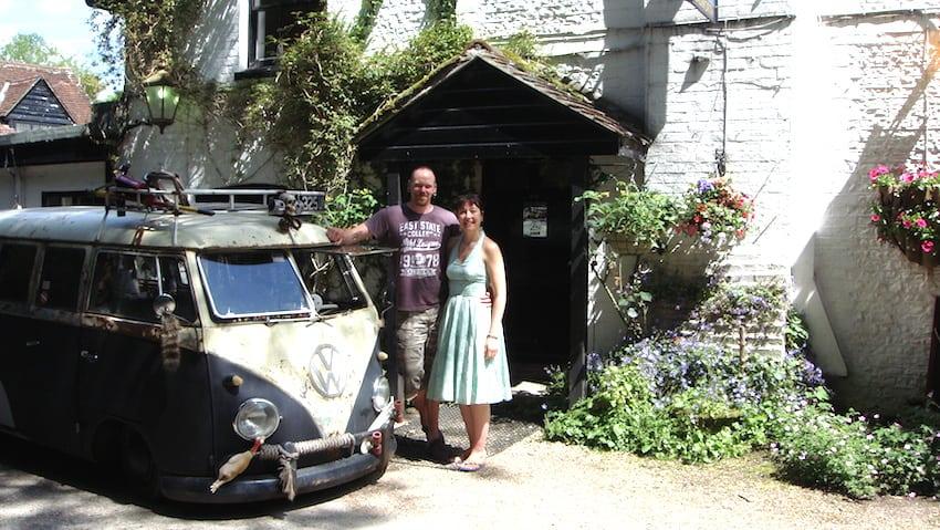 Brit Stops Inn