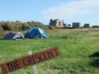 Piel Island campsite