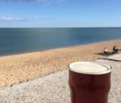 Seaside pint Slapton