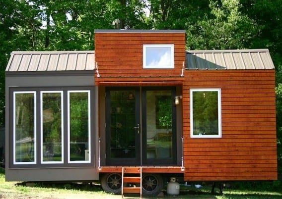 tall tiny house