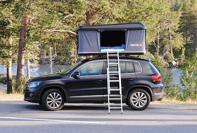 Tentbox & Roof tents u2013 camping kit for masochists or a perfect penthouse ...