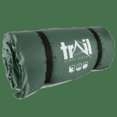 Trail camping mat
