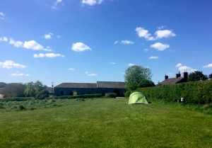 The Mains campsite Eden Valley