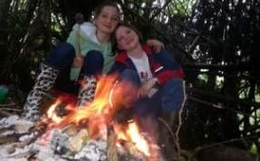 Campfires at Wood Camping