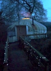 Yurt night