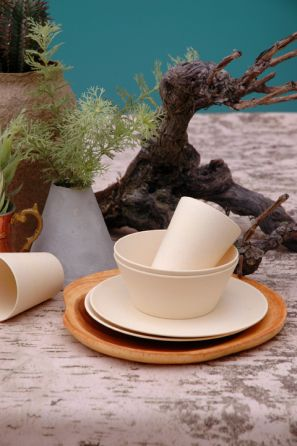 Zuperzozial biodegradable crockery