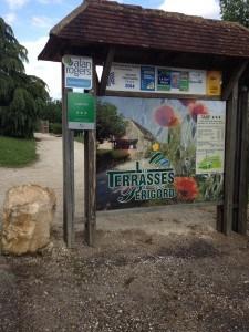 Entrance to Les Terrasses