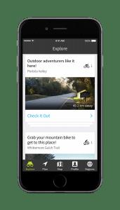 Komoot iphone map app