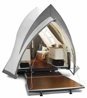 Opera trailer camper