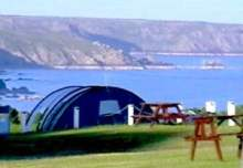 Chy Carne campsite Cornwall