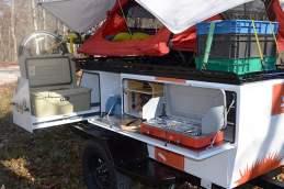 Woolly Bear trailer tent