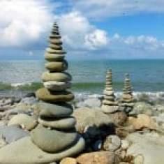 Stones sculpture