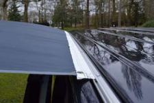 Fast and light – our choice for driveaway awnings and