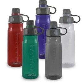 Muskie- Bulk Custom Printed Water Bottle with Screened Opening