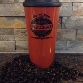 Sandpiper-Bulk Custom16oz reusable tumbler coffee cup with lid