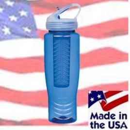 Cuscus- Bulk Custom Printed American Made Water Bottle With Fruit Infuser