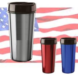Aardwolf- Bulk Custom Printed, Made In America, Union Made Travel Tumblers