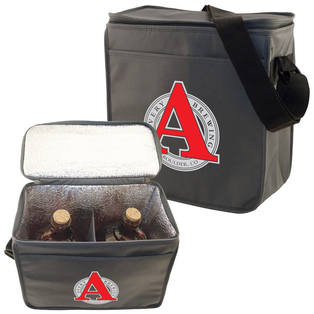 Insulated Double Growler Bag Double Growler Cooler Two