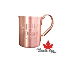 Hinny- Bulk Custom Engraved 18oz Solid Copper Moscow Mule Mug